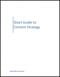 Short Guide to Content Strategy book cover