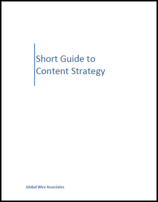Short Guide to Content Strategy