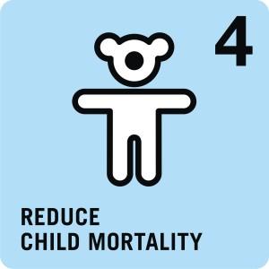 Goal 4: Reduce childhood mortality